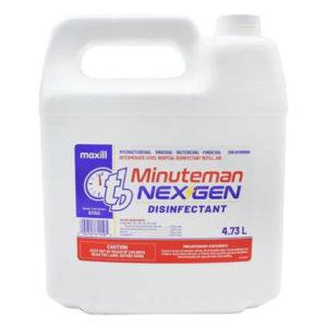 tb Minuteman NEX GEN Disinfectant - 4.73 L Refill Jug