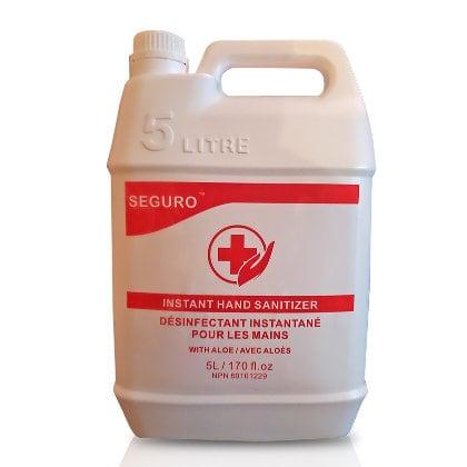 SEGURO hand-sanitizer-5l-aloe