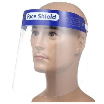 face shield blue